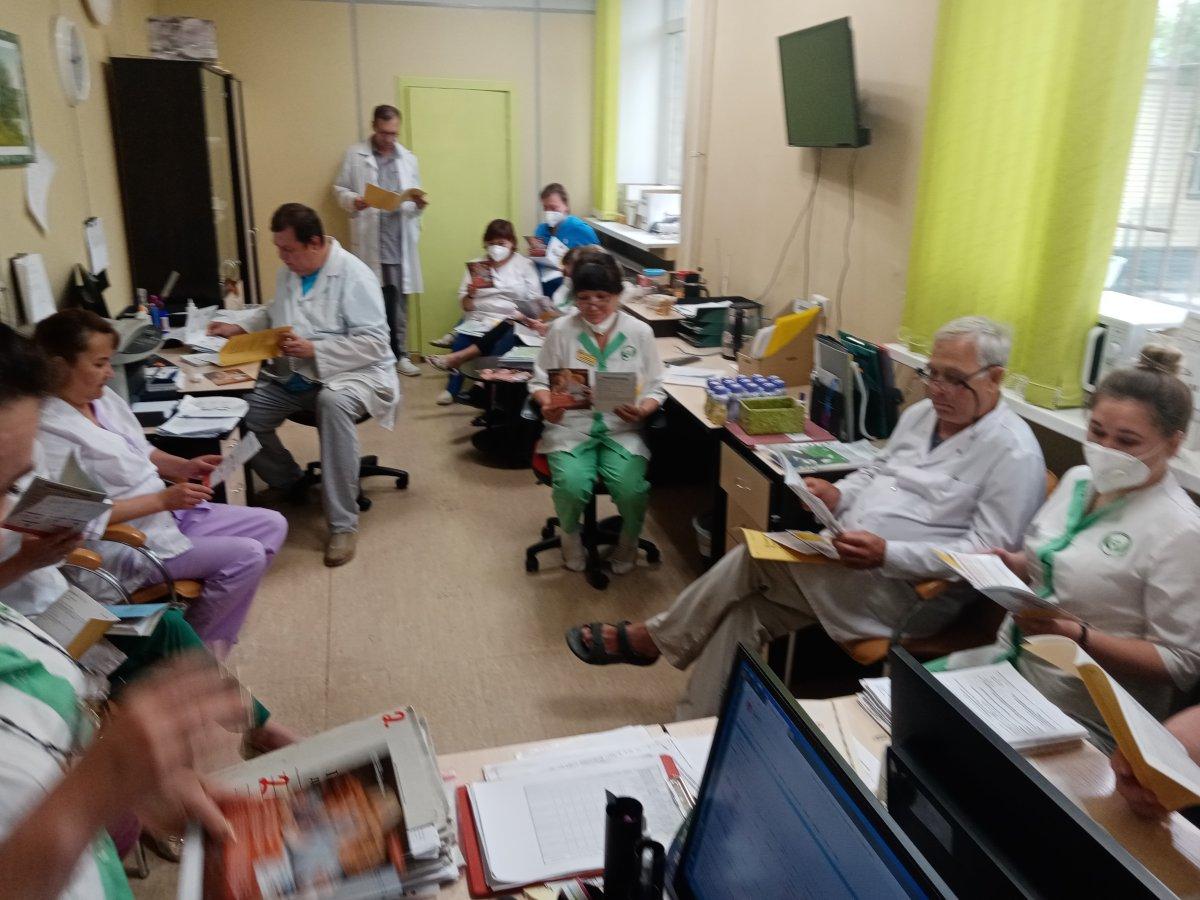 Обучение медицинских работников по направлению «Организация паллиативной медицинской помощи»